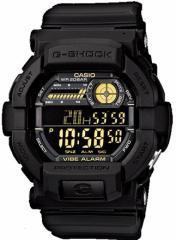 3000円以上送料無料 腕時計 小物 カシオ G-SHOCK 海外モデル バイブレーション 高輝度LEDバックライト搭載 GD-350-1B メンズ腕時計 Gショ
