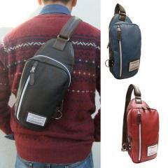 送料無料 ボディバッグ メンズ バッグ クラシック 合皮 ショルダーバッグ 鞄