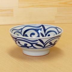 送料無料 大鉢 食器・調理器具 有田焼 和唐草 麺鉢 キッチン用品 食器 和食器 和風