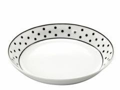 スープ皿 食器・調理器具 ノヴァ パスタ カレー 22cm ドット 5個入 22×4cm MADE IN JAPAN 日本製 国産 3000円以上送料無料