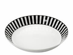 スープ皿 食器・調理器具 ノヴァ パスタ カレー 22cm ボーダー 5個入 22×4cm MADE IN JAPAN 日本製 国産 3000円以上送料無料