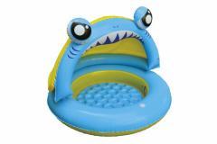 3000円以上送料無料 家庭用プール キッズ おもちゃ プール JILONG シャーク プレイプール 水あそび