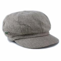 帽子 新作 ウールキャスケット ブランド ラコステ メンズ レディース 秋冬 LACOSTE ベージュ