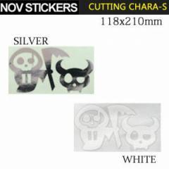 NOVEMBER【ノベンバー】ステッカー CUTTING CHARA-S  カッティング キャラ エス スノーボード ステッカー