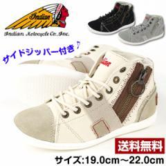 即納 あす着 送料無料 インディアン スニーカー ハイカット 子供 キッズ ジュニア 靴 Indian ind-13233 tok