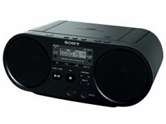 【即納・送料無料】SONY ソニー CDラジオ CDラジカセ ZS-S40(B) ブラック
