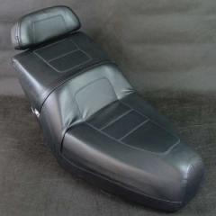 フュージョン MF02 純正タイプ ブラック シート バックレスト付き 補修 カスタム パーツ ホンダ FUSION