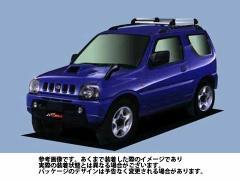 ルーフキャリア タフレック HR22 スズキ SUZUKI ジムニー / JB23W アルミ素材 TUFREQ 精興工業