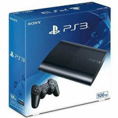 発送日ご確認を!★2月23日発送★新品】PS3本体 PlayStation3 チャコール・ブラック 500GB CECH-4300C
