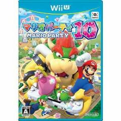 棚卸しの為★3月3日発送★新品】WiiUソフト マリオパーティ10