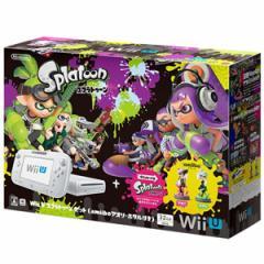 棚卸しの為★4月18日発送★新品】WiiU本体同梱版 Wii U スプラトゥーン セット (amiibo アオリ ホタル付き)