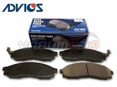 スカイライン ENR34 ECR33 ENR33 フロント ブレーキパッド ADVICS アドヴィックス
