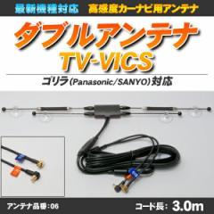 ゴリラ・ミニゴリラ用 TV-VICS一体型ダブルアンテ...