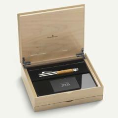 ファーバーカステル Faber-Castell ペン・オブ・ザ・イヤー PEN OF THE YEAR 2008 サテンウッド 万年筆(Fサイズ) GF145051