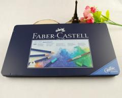 ファーバーカステル Faber-Castell アートグリップ 水彩色鉛筆セット 60色(缶入) 114260