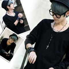カットソー メンズ ロンT メール便 レイヤード Vネック テレコ カットソー Tシャツ ブラック 黒 大きいサイズ M L  長袖 uネック ホワ