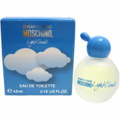 モスキーノ MOSCHINO ライト クラウズ ミニボトル 4.9ml EDT オードトワレ【税別5000円以上送料無料】