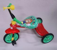 ライオンダンプ 三輪車 レッド