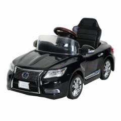【送料無料】電動バッテリーカー ニューレクサス NEW LEXUS LS600hL スターライトブラック
