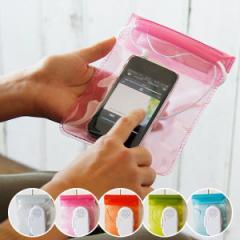 防水ケース スマートフォン iPhone スピーカー「ジェリーフィッシュ」Mサイズ【iPhone6 plus iPhone5 ケース スマホケース アウトドア】