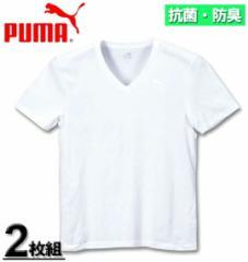 大きいサイズ PUMA 2P抗菌防臭半袖VTシャツ 3L 4L 5L 6L/1149-5214-1-39
