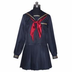 【コスプレ 制服 セーラー服 新商品】3点セット costume1043 ゴスロリ♪ロリータ♪パンク♪コスプレ♪コスチューム♪メイド