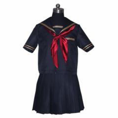 【コスプレ 制服 セーラー服 新商品】3点セット costume1044 ゴスロリ♪ロリータ♪パンク♪コスプレ♪コスチューム♪メイド