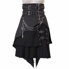 【ゴスロリ ロリィタ スカート】3点セット p358 ...