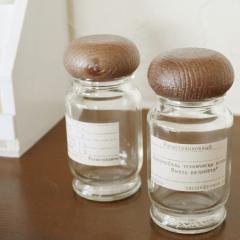 【BREA】スパイスボトル 2本セット 調味料入れ ガラス瓶 日本製
