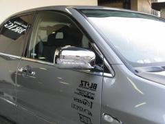 BRIGHTZ ランサー セディア ワゴン セディアワゴン CS5W クロームメッキLEDウィンカーミラーカバー サイドドアミラー