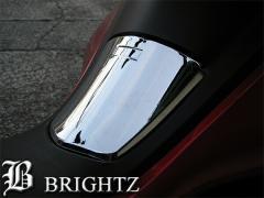 BRIGHTZ ホンダ HONDA PCX JF28 クロームメッキガソリンタンクキャップカバー ガスタンカバー 給油口カバー