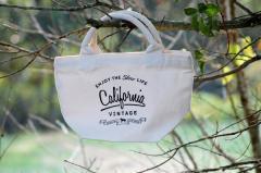 【メール便対応可】愛犬とのお散歩・普段使いにもCalifornia Vintage カリフォルニアヴィンテージコットンバッグ【犬/お散歩/バッグ/ウ