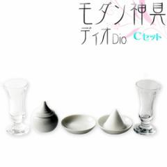 国産神具【モダン神具:ディオ Cセット(クリス...