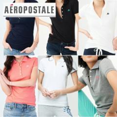 エアロポステール AEROPOSTALE ]レディース 12色 ポロシャツ 半袖POLO 鹿の子 A87 Pique Polo