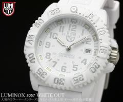 ルミノックス LUMINOX LUMI-NOX ルミノックス ネイビーシールズ ミリタリー ホワイトアウト メンズ 腕時計 3057.WO うでどけい Mens【04