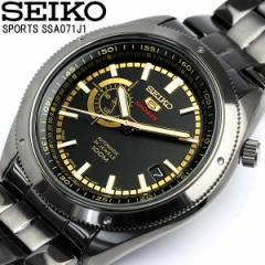【送料無料】 セイコー SEIKO 腕時計 自動巻き セイコー5 メンズ SSA071J1 オートマティック 日本製 MADE IN JAPAN メイドインジャパン