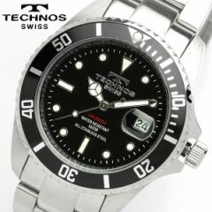 TECHNOS テクノス メンズ ダイバーズタイプ 腕時計 TAM629SB【0405_腕時計】