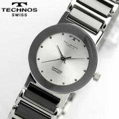 TECHNOS テクノス セラミック サファイアガラス ブラック レディース 腕時計 TBL726TS【0405_腕時計】