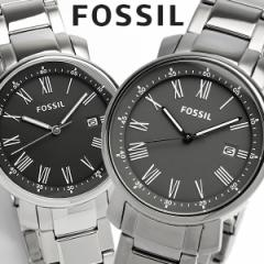 【FOSSIL】 フォッシル 腕時計 メンズ ブラック グレー メタル 5気圧防水 BQ1010 BQ1013 海外限定モデル 人気 ブランド ウォッチ Mens