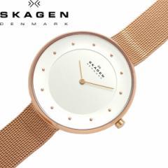 【送料無料】SKAGEN スカーゲン 腕時計 ウォッチ うでどけい レディース 女性用 クオーツ 日常生活防水 メッシュベルト ドットインデック