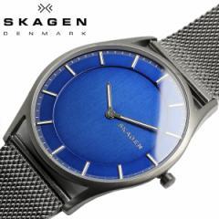 スカーゲン SKAGEN HOLST ホルスト メンズ スリム 腕時計 クオーツ 5気圧防水 ステンレス ミネラルガラス ブルー シンプル  SKW6223
