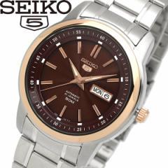 【送料無料】seiko セイコー 5 ファイブ 腕時計 ウォッチ メンズ 自動巻き 5気圧防水 バックスケルトン デイトカレンダー snkm90k1