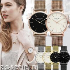 【送料無料】【100%本物保証】ROSE FIELD ローズフィールド 腕時計 レディース メッシュ ステンレス ウォッチ ローズゴールド シルバー