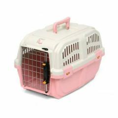 ドギーマン イタリア製ハードキャリー DOGGY EXPRESS S ピンク 犬 猫用キャリーバッグ 航空機対応(5kgまで)