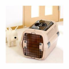 リッチェル RC キャンピングキャリー M ダブルドア ブラウン 犬 猫 キャリーバッグ キャリーケース クレート(8kgまで)