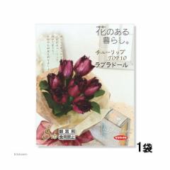 (観葉)チューリップ球根 花のある暮らし。TOP10シリーズ ラブラドール 8球詰(1袋)