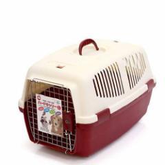 マルカン ハードキャリーL レッド 犬 猫 キャリーバッグ キャリーケース(5〜9kgまで) お一人様2点限り