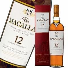 マッカラン 12年 シェリーオーク 40度 700ml (専用BOX入) 【正規品】 シングルモルト スコッチ ウイスキー