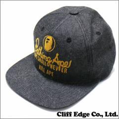 (新品) A BATHING APE エイプ CHAMPION SNAP BACK CAP 250-000299-011 (ヘッドウェア)