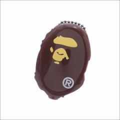 (2017新作・新品)A BATHING APE (エイプ) APE HEAD COIN CASE (コインケース) BROWN 1D30-182-030 272-000158-016-(グッズ)